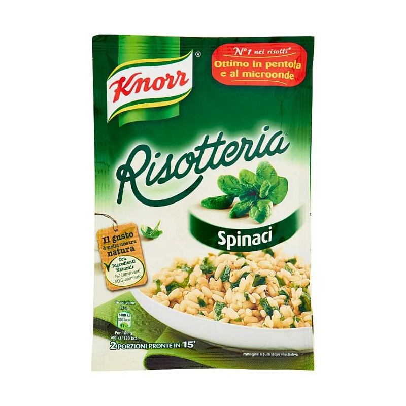 Knorr Risotteria Spinaci 175 g