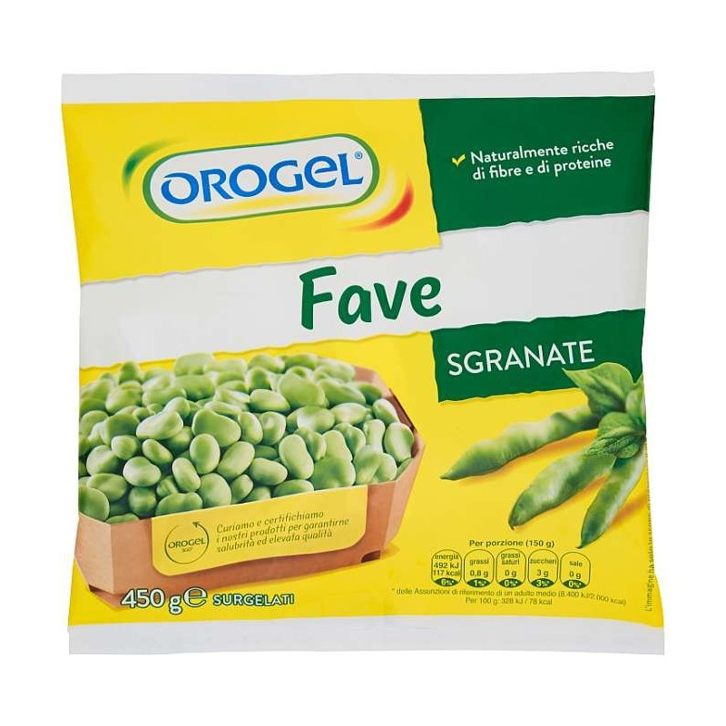 Orogel Fave Sgranate...