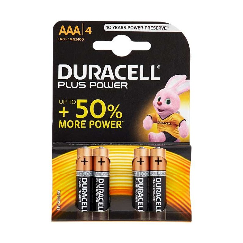 Duracell Plus Power AAA...