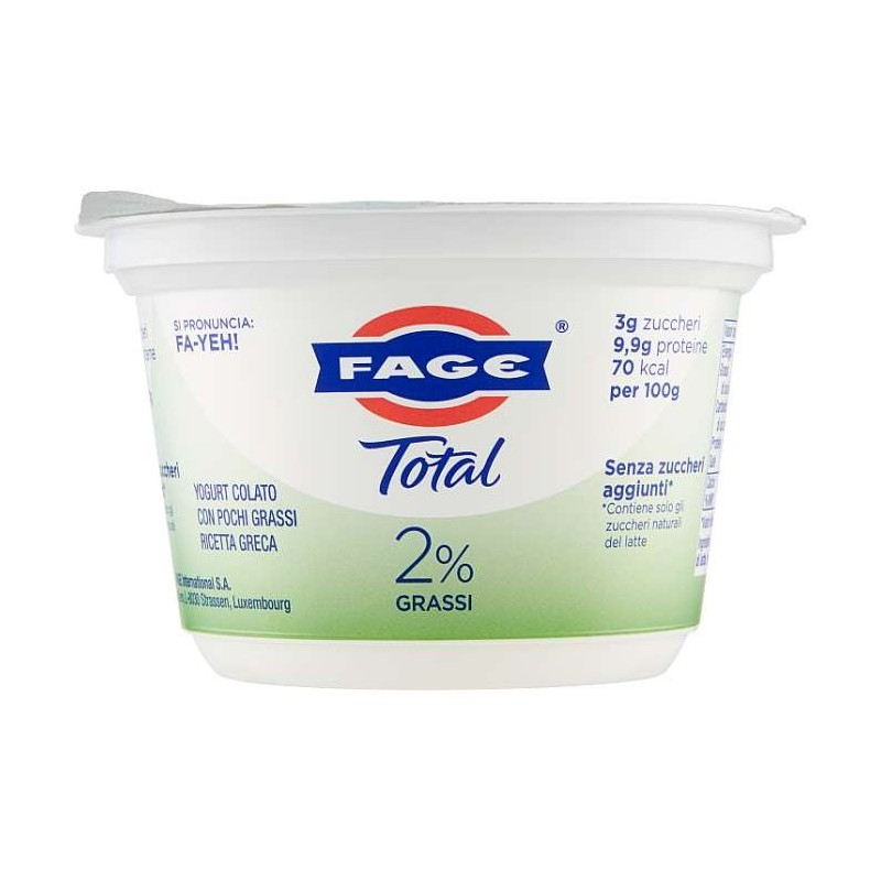 Fage Total 2% Grassi 170 g